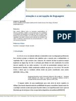 Populismo, emoção e a corrupção da linguagem