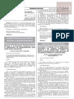 R.A. Nº 058-2020-P/TC