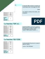 TP N°9 (fonctions statistiques)