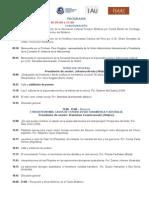 Programa IX Simposio Internacional de Arqueoastronomía Oxford - Español