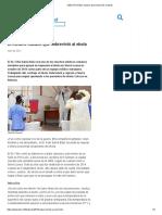 OMS _ El médico cubano que sobrevivió al ebola