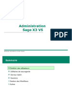 Formation Administration Sage