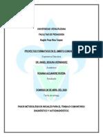 Pasos Metodolólogicos Iniciales Para El Trabajo Comunitario_Diagnóstico y Autodiagnóstico_ Roxana Alejandre