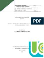 TRABAJO DE LABORATORIO_ DENSIDAD RELATIVA Y ABSORCION DEL AGREGADO GRUESO_ RODRIGO MALLUNGO _ DIANA