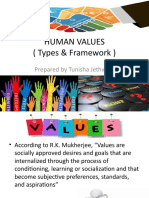 Types & Framework of Human Values