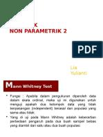 Pertemuan 11 non parametrik 2