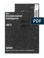 The Search for Extraterrestrial Intelligence (SETI)
