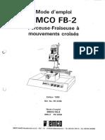 EMCO FB2 Manual Francias