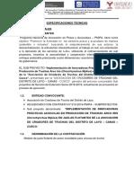 TDR, PARRRA JAULAS FLOTANTES