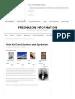 Ordo ab Chao in Freemasonry _ Freemason Information