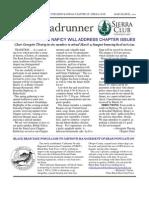 March-April 2010 Roadrunner Newsletter, Kern-Kaweah Sierrra Club