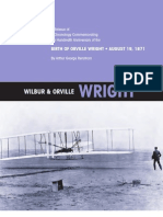Wilbur and Orville Wright a Chronology Commemorating the One-Hundredth Anniversary of the First Powered Flight on December 17, 1903