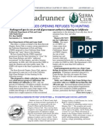 January-February 2011 Roadrunner Newsletter, Kern-Kaweah Sierrra Club