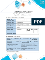 Activities guide and evaluation rubric - Task 2 - Collaborative work 2.docx