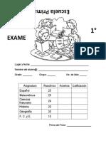 6o. EXAMEN 1 BIMESTRE de123456