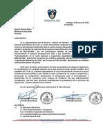 Carta Sr Ministro Hacienda Por Recorte Presupuestario 2020