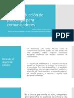 Una introducción de psicología para comunicadores