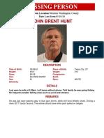 John Hunt Missing Person Flyer (002)