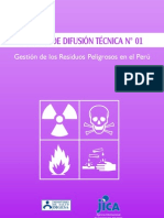 Gestion de Residuos Peligrosos en El Peru