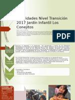 Actividades Nivel Transición 2017 Jardín Infantil Los Conejitos