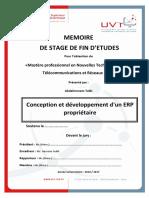 Conception-Developpement-ERP