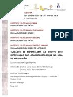 Mestrado - Enfermagem - Enfermagem Médico-cirurgica, a Pessoa em Situação Crítica - Lúcia Filipa Domingos Martins - Cuidados de enfermagem ao doente com intoxicação por organofosforados na sala de reanimaçã