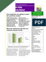 Houston Organization of Public Employees Survey