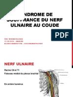 A. Margottin - Syndrome de souffrance du nerf ulnaire au coude