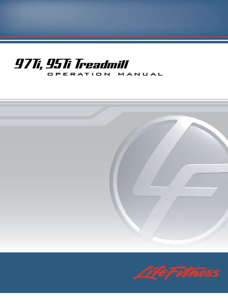 Life Fitness 97T Treadmill Walking Belt with Free Treadmill Wax Made in USA