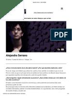 Alejandra Serrano - Teatro UNAM