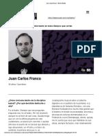 Juan Carlos Franco - Teatro UNAM
