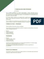 Alternativas de Financiación EXTERNADO