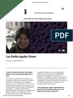 Luz Emilia Aguilar Zinser - Teatro UNAM