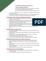 AFIRMACIONES QUÁNTICAS PARA UNA CONCIENCIA EXITOSA Y FELIZ