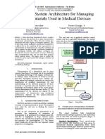 An expert system architecture for managing the biomaterials used in medical devices