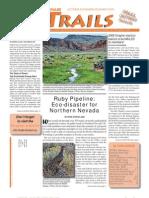 October - December 2009 Toiyabe Trails Newsletter, Toiyabe Sierra Club