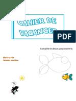 Cahier de vacances Maternelle Grande section_des 5 ans