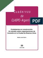 Cuadernos CLASPO 20