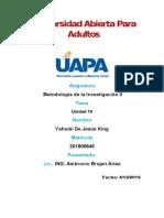 TAREA 10 METODOLOGIA DE LA INVESTIGACION DOS yafreisi (1).docx