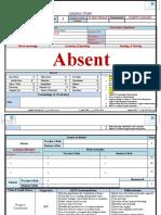 g3  ( 9 - 12 - 2012  ) absent