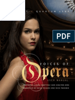 Voices of Opera User Manual