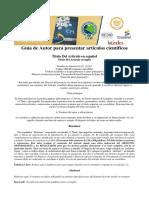 GUIA REDACCION DE ARTICULOS REVISTA PEDAGOGICA