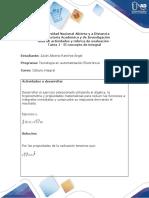 Solución Actividad 1 concepto de integral