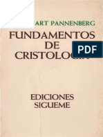 Pannenberg Wolfhart Fundamentos de Cristologiapdf