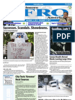 Baltimore Afro-American Newspaper, January 1, 2011