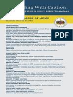 Updated safer-at-home information vertical
