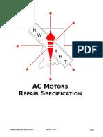 AC Motor Repair Specs
