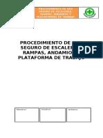PROCEDIMIENTO DE USO SEGURO DE ESCALERAS, RAMPAS, ANDAMIOS Y PLATAFORMAS DE TRABAJO.doc