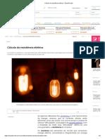 Cálculo da resistência elétrica - Brasil Escola