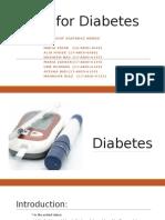 MNT Of Diabetes